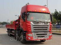 Shaoye SGQ5310JSQJG4 truck mounted loader crane
