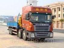 Shaoye SGQ5313JSQJ truck mounted loader crane