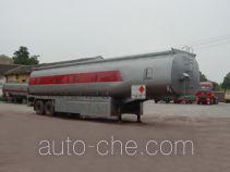 Shaoye SGQ9340GHY chemical liquid tank trailer