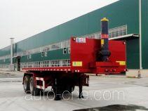 Shaoye SGQ9350ZZXP flatbed dump trailer