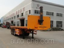 Shaoye SGQ9400ZZXP flatbed dump trailer