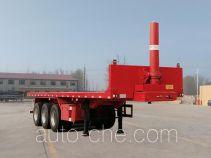 Shantong SGT9400ZZXP flatbed dump trailer