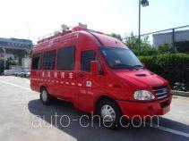 Shangge SGX5040XXFTZ3000/NJ штабной пожарный автомобиль связи