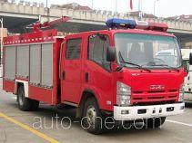 上格牌SGX5100GXFPM30型泡沫消防车