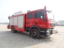 上格牌SGX5130TXFJY80/M型抢险救援消防车