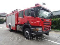 Shangge SGX5140TXFBP50/S пожарный автомобиль-насос