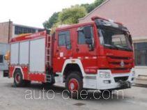 上格牌SGX5140TXFJY80/ZZ型抢险救援消防车