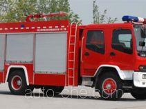 上格牌SGX5161GXFPM55型泡沫消防车