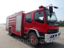 上格牌SGX5180GXFPM75/QL型泡沫消防车