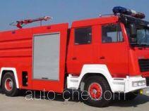 上格牌SGX5190GXFPM80型泡沫消防车