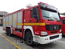 Shangge SGX5190TXFGQ120 пожарный автомобиль газового пожаротушения