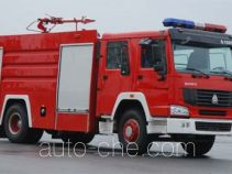 上格牌SGX5191GXFPM80型泡沫消防车