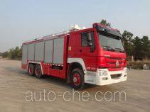 Shangge SGX5191TXFGQ54/ZZ пожарный автомобиль газового пожаротушения