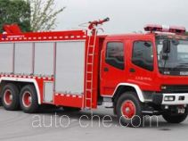 上格牌SGX5200TXFHJ40型化学事故抢险救援消防车