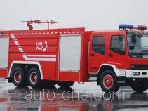 上格牌SGX5240GXFPM110型泡沫消防车
