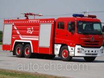 上格牌SGX5300GXFPM150DND型泡沫消防车