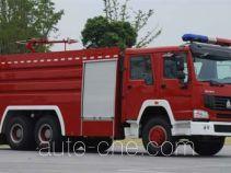 上格牌SGX5310GXFPM150型泡沫消防车
