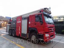 Shangge SGX5310JXFJP32/ZZ high lift pump fire engine