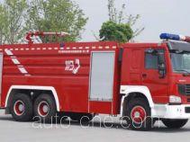 上格牌SGX5321GXFPM170ZZ型泡沫消防车