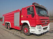 上格牌SGX5322GXFPM170/ZZ型泡沫消防车