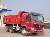 华威驰乐牌SGZ3257ZZ3W38型自卸汽车