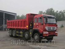 华威驰乐牌SGZ3314ZZ3型自卸汽车
