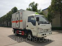 Sinotruk Huawin SGZ5038XRQBJ4 flammable gas transport van truck