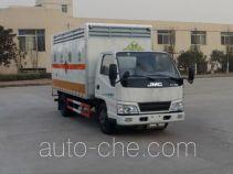 华威驰乐牌SGZ5048XFWJX4型腐蚀性物品厢式运输车