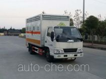 Sinotruk Huawin SGZ5048XRGJX4 flammable solid goods transport van truck