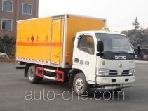 Sinotruk Huawin SGZ5048XRQDFA4 flammable gas transport van truck