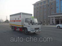 华威驰乐牌SGZ5048XRYJX4型易燃液体厢式运输车