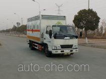 华威驰乐牌SGZ5068XRYTG24型易燃液体厢式运输车