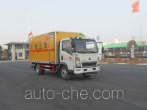 Sinotruk Huawin SGZ5088XQYZZ4 explosives transport truck