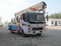 Sinotruk Huawin SGZ5100JGKZZ4 aerial work platform truck