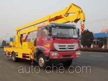 Sinotruk Huawin SGZ5104JGKZZ47 aerial work platform truck