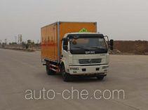 华威驰乐牌SGZ5118XRGDFA4型易燃固体厢式运输车