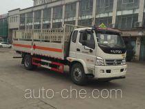 华威驰乐牌SGZ5168TQPBJ4型气瓶运输车