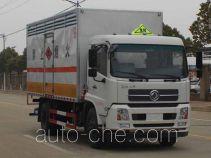华威驰乐牌SGZ5168XRGD4BX5型易燃固体厢式运输车