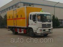 华威驰乐牌SGZ5168XRYD4BX5型易燃液体厢式运输车