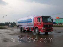 华威驰乐牌SGZ5240GFLZZ3W型粉粒物料运输车