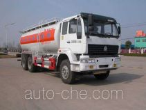 华威驰乐牌SGZ5250GFLZZ3J52型粉粒物料运输车