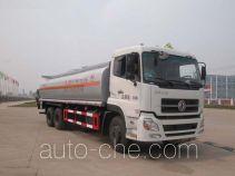 华威驰乐牌SGZ5250GHYDFL3A9型化工液体运输车