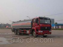 华威驰乐牌SGZ5250GHYZZ3J44型化工液体运输车