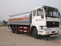 华威驰乐牌SGZ5250GHYZZ3J52型化工液体运输车