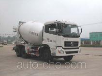 华威驰乐牌SGZ5250GJBDFLA4型混凝土搅拌运输车