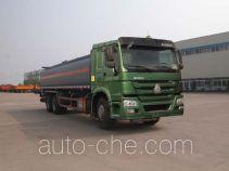 Sinotruk Huawin SGZ5250GRYZZ4W52 flammable liquid tank truck