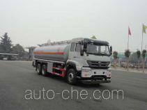 华威驰乐牌SGZ5250GYYZZ5M5型运油车