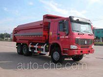 华威驰乐牌SGZ5250MLJZZ3W型密封式垃圾车