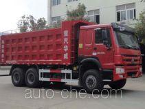 Sinotruk Huawin SGZ5250TSGZZ5W38 fracturing sand dump truck