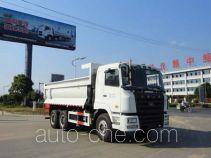 华威驰乐牌SGZ5250ZLJHN4型自卸式垃圾车